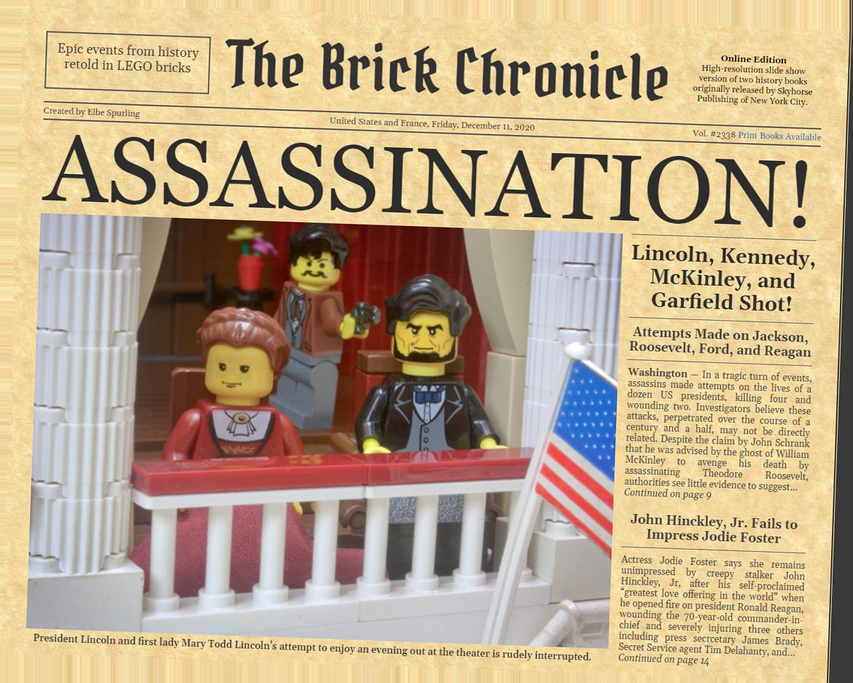 newspaper assassination